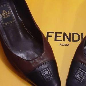 💝Authentic fendi low heels